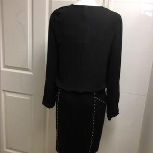Cache Dresses - NWT Cache black stud dress size 10 $168